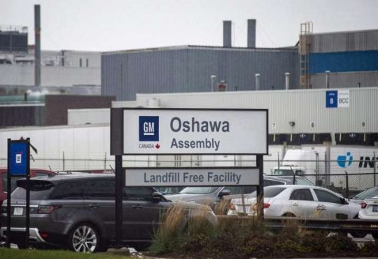 GM reaffirms Oshawa closure after separate meetings with Doug Ford, Navdeep Bains