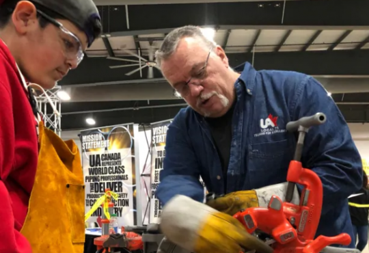 Skilled trade workers wooing youth as shortage looms