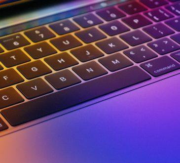 close up of keyboard
