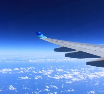wing of airplane