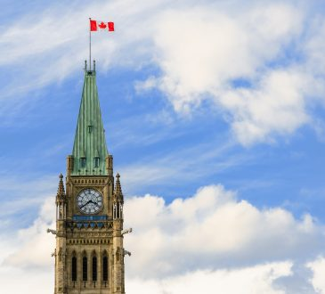 peace tower on parliament hill