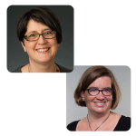 Karen Schaffer and Juliana Wiens