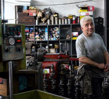 man in auto shop