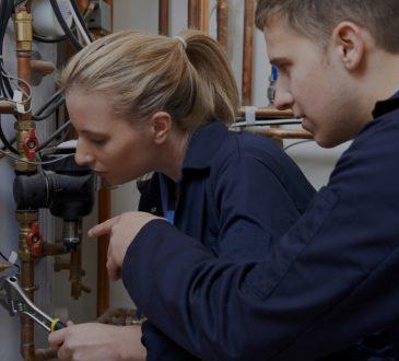 plumbing student