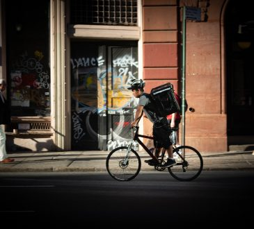 bike delivery driver