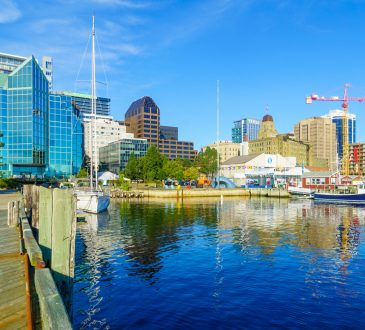 Halifax harbourfront.