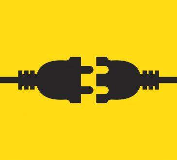 vector illustration of plug