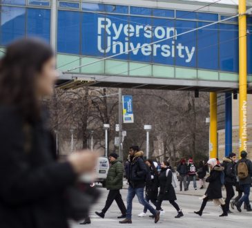students at Ryerson university