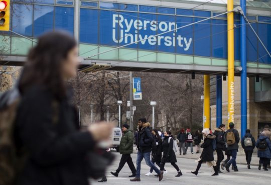 students at Ryerson university