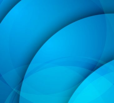 Abstract blue background, circular overlay