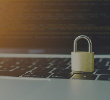 lock on laptop keyboard