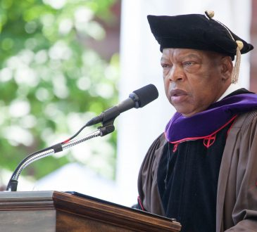 John Lewis Civil rights leader and U.S. Representative; Doctor of Laws (LL.D.);