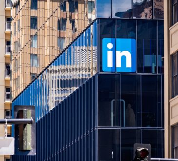 LinkedIn offices in downtown San Francisco