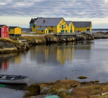 newfoundland coastal village