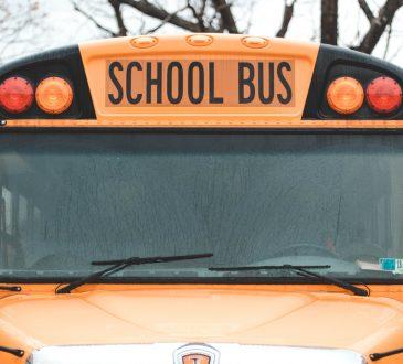 school bus front view
