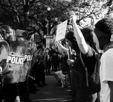 Black Lives Matter protest in DC