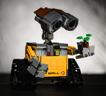 lego model of Pixar character Wall-e