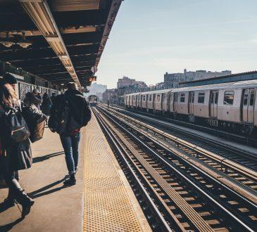 subway platform outdoors