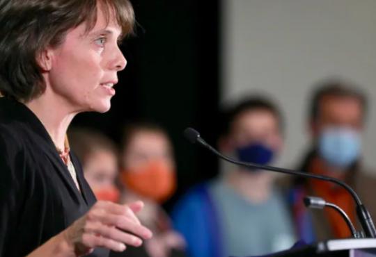 B.C. Green Party Leader Sonia Furstenau.
