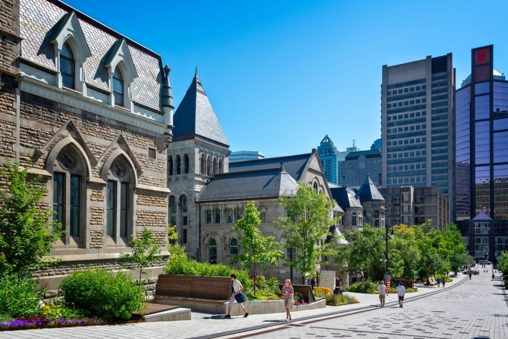 McGill university on McTavish street on Montreal