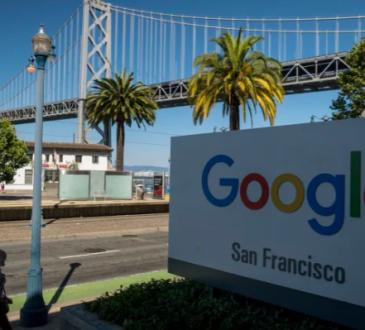Google sign in San Francisco.