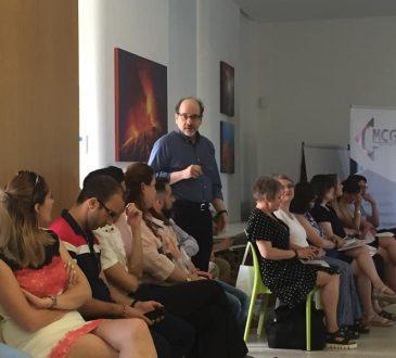 David Blustein teaching.