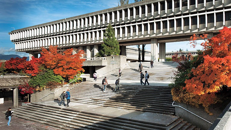 Simon Fraser University campus